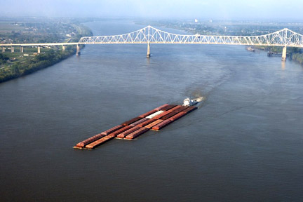 Accidents in Metairie, LA can have many causes - whether a car accident, medical malpractice case, or an accident related to maritime commerce on the Mississippi River or the Gulf. For example, boats, tugs, and other vessels on the Mississippi, like the one here, can be invovled in collisions where injuries and property damage result. Call a Metairie personal injury lawyer today to represent you in your claims.
